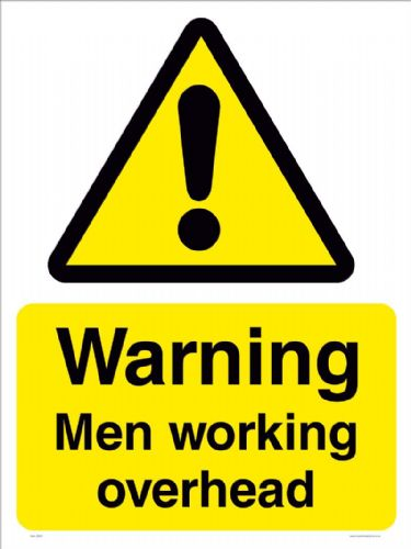 Warning Men working overhead